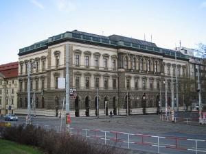 A building of the Czech Technical University in Prague, Karlovo náměstí. Architect: Ignác Vojtěch Ullmann, 1871–74 ; Credit Petr Kedlac