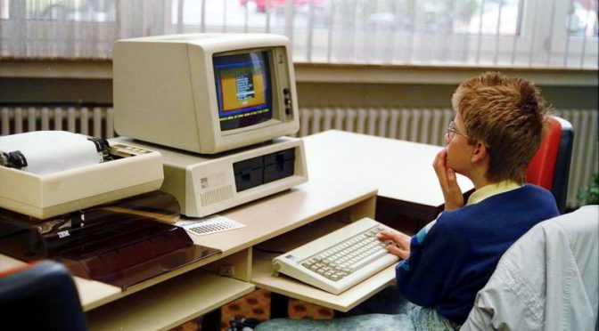 Pierwszy komputer IBM PC