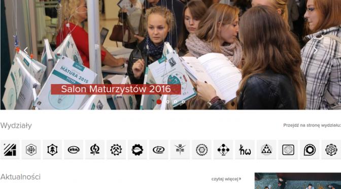 Nowe strony WWW Politechniki Wrocławskiej