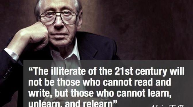 Learn, relearn, unlearn