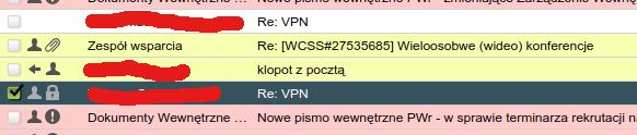 Podpisany e-mail wprogramie pocztowym