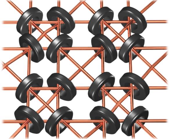 Schemat połączeń pamięci magnetycznej