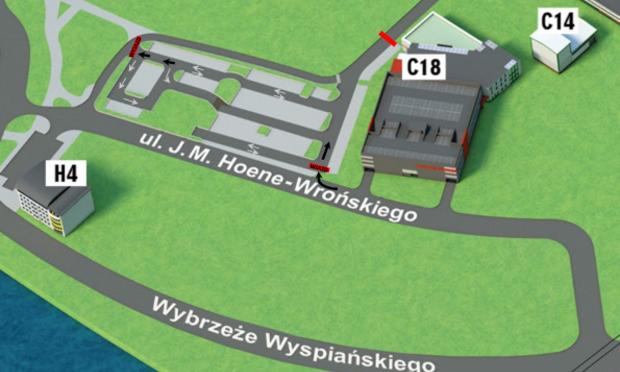 Miejsca postojowe przy ul.Józefa Marii Hoene-Wrońskiego – Uruchomienie Systemu Kontroli Dostępu