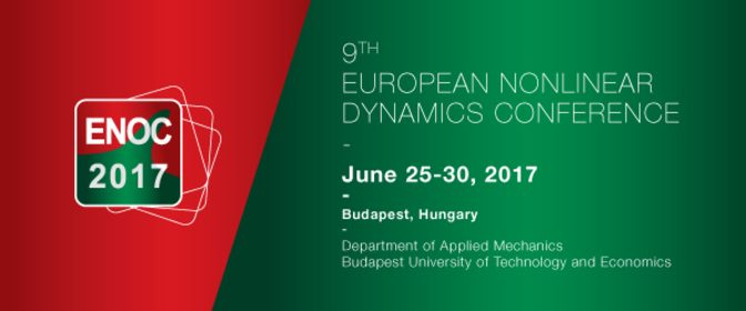 9th European Nonlinear Dynamics Conference