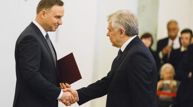 prof.Jerzy Kaleta odebrał nominację profesorską