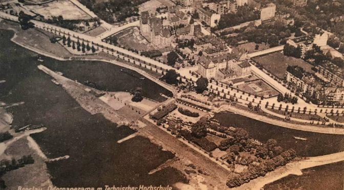Kampus Politechniki Wrocławskiej wroku 1920