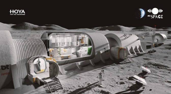 Zaprojektowali bazę naKsiężycu izdobyli 4. miejsce wkonkursie Moon Society